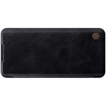 Тонкий Флип NILLKIN Qin Чехол Книжка для Xiaomi Mi Note 10 Черный