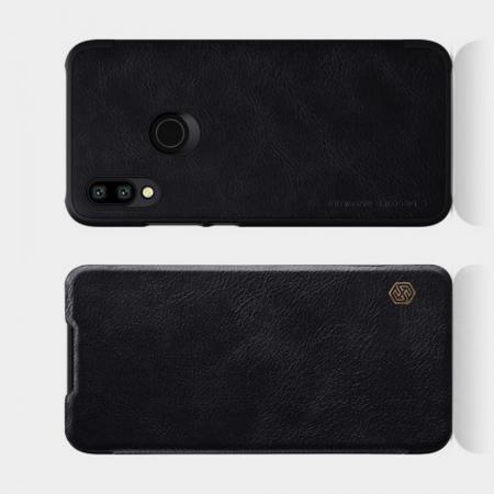 Тонкий Флип NILLKIN Qin Чехол Книжка для Xiaomi Redmi 7 Черный