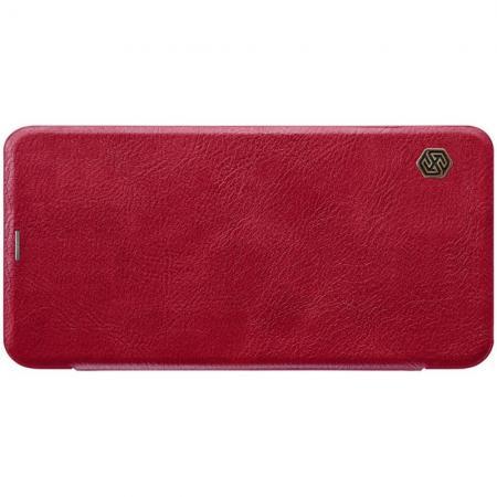 Тонкий Флип NILLKIN Qin Чехол Книжка для Xiaomi Redmi Note 6 / Note 6 Pro Красный