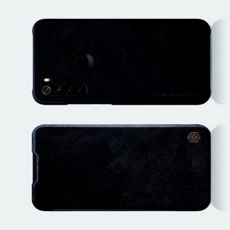 Тонкий Флип NILLKIN Qin Чехол Книжка для Xiaomi Redmi Note 8 Черный