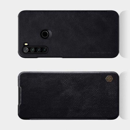 Тонкий Флип NILLKIN Qin Чехол Книжка для Xiaomi Redmi Note 8T Черный