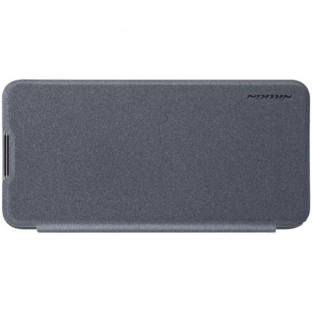 Тонкий Флип NILLKIN Sparkle Горизонтальный Боковой Чехол Книжка для Huawei Honor 20S Серый