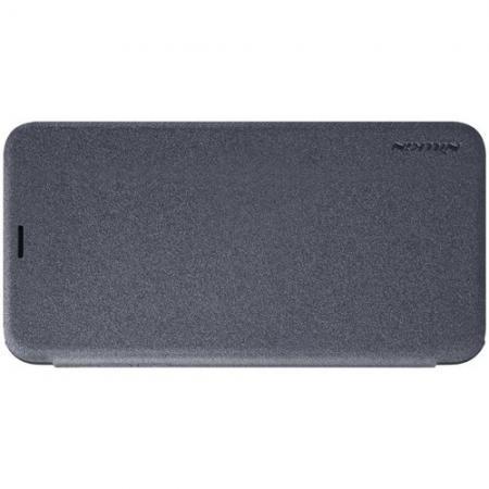 Тонкий Флип NILLKIN Sparkle Горизонтальный Боковой Чехол Книжка для iPhone XS Max Серый