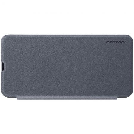 Тонкий Флип NILLKIN Sparkle Горизонтальный Боковой Чехол Книжка для Samsung Galaxy A50 Серый
