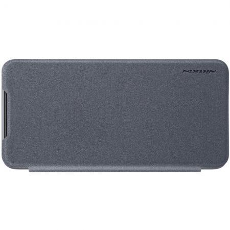 Тонкий Флип NILLKIN Sparkle Горизонтальный Боковой Чехол Книжка для Xiaomi Mi 9 Серый