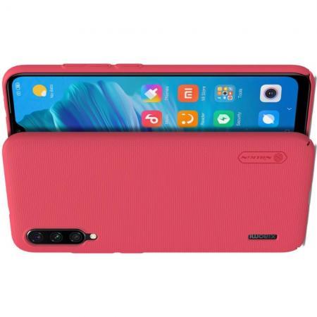 Тонкий Кейс Накладка NILLKIN Frosted для Xiaomi Mi A3 Красный