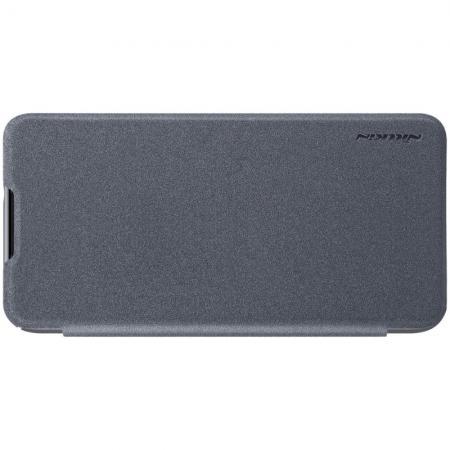 Тонкий Флип NILLKIN Sparkle Горизонтальный Боковой Чехол Книжка для Xiaomi Mi Play Серый