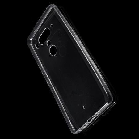 Тонкий TPU Бампер Силиконовый Чехол для HTC U12+ Прозрачный