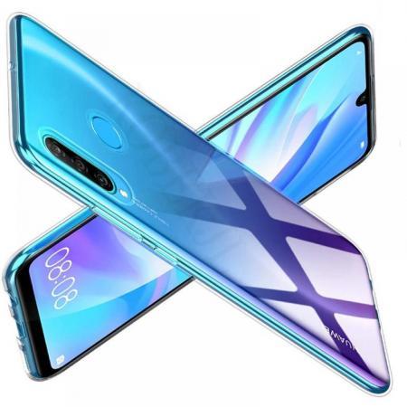 Тонкий TPU Бампер Силиконовый Чехол для Huawei Honor 10i Прозрачный