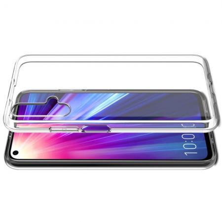 Тонкий TPU Бампер Силиконовый Чехол для Huawei Honor 20 Прозрачный