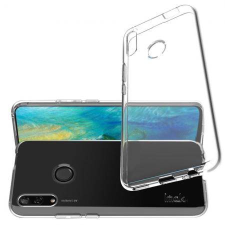 Тонкий TPU Бампер Силиконовый Чехол для Huawei P Smart Z Прозрачный