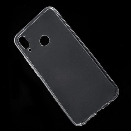 Тонкий TPU Бампер Силиконовый Чехол для Huawei P20 lite Прозрачный