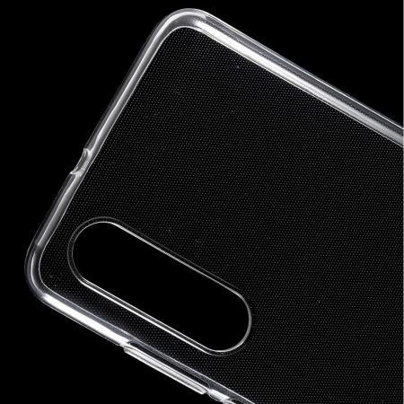 Тонкий TPU Бампер Силиконовый Чехол для Huawei P30 Прозрачный