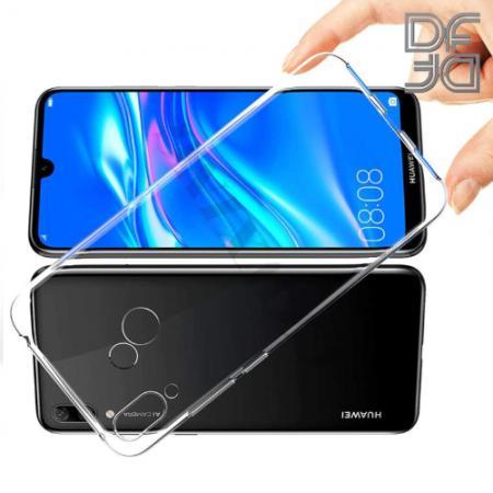 Тонкий TPU Бампер Силиконовый Чехол для Huawei Y6 2019 Прозрачный