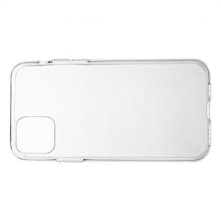 Тонкий TPU Бампер Силиконовый Чехол для iPhone 11 Pro Прозрачный