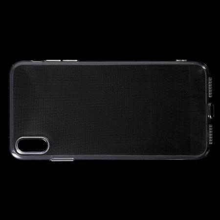 Тонкий TPU Бампер Силиконовый Чехол для iPhone XS Max Прозрачный
