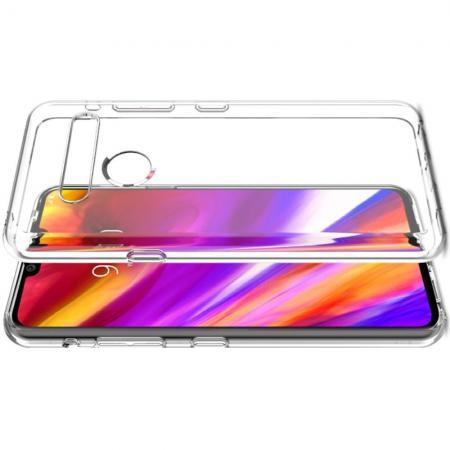Тонкий TPU Бампер Силиконовый Чехол для LG G8s ThinQ Прозрачный