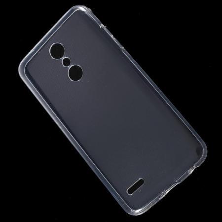 Тонкий TPU Бампер Силиконовый Чехол для LG K11 Прозрачный