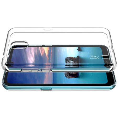 Тонкий TPU Бампер Силиконовый Чехол для Nokia 1.3 Прозрачный
