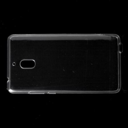 Тонкий TPU Бампер Силиконовый Чехол для Nokia 2.1 2018 Прозрачный