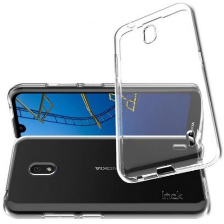 Тонкий TPU Бампер Силиконовый Чехол для Nokia 2.2 Прозрачный