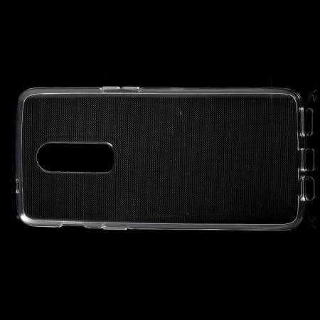 Тонкий TPU Бампер Силиконовый Чехол для OnePlus 6 Прозрачный