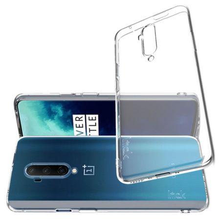 Тонкий TPU Бампер Силиконовый Чехол для OnePlus 7T Pro Прозрачный