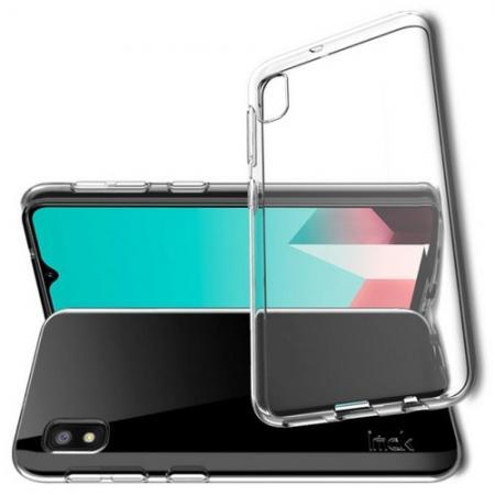 Тонкий TPU Бампер Силиконовый Чехол для Samsung Galaxy A10e Прозрачный