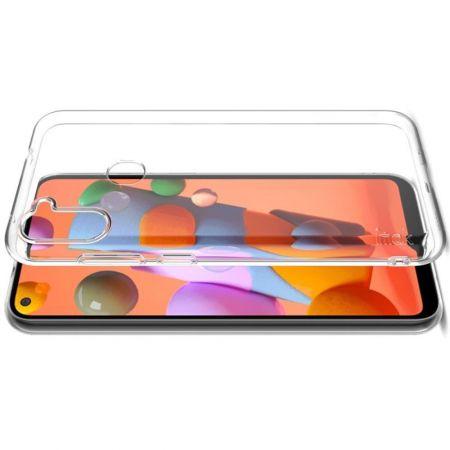 Тонкий TPU Бампер Силиконовый Чехол для Samsung Galaxy A11 Прозрачный