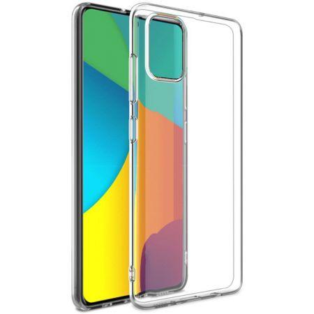 Тонкий TPU Бампер Силиконовый Чехол для Samsung Galaxy A51 Прозрачный