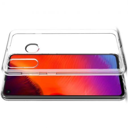 Тонкий TPU Бампер Силиконовый Чехол для Samsung Galaxy A60 Прозрачный