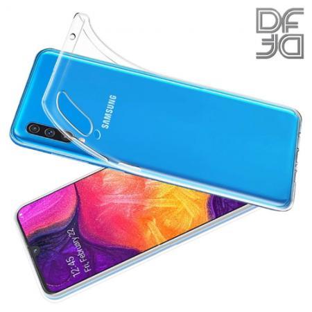 Тонкий TPU Бампер Силиконовый Чехол для Samsung Galaxy A70 Прозрачный