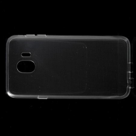 Тонкий TPU Бампер Силиконовый Чехол для Samsung Galaxy J4 2018 SM-J400 Прозрачный