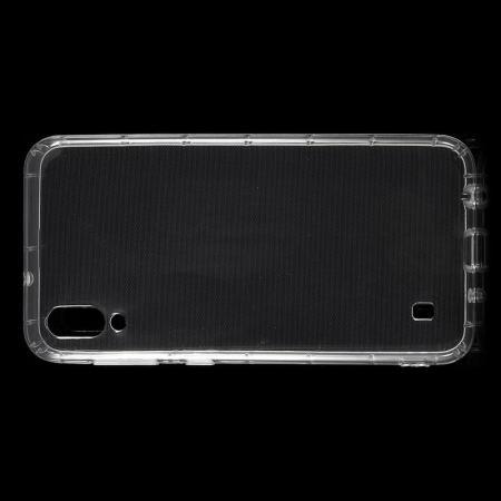 Тонкий TPU Бампер Силиконовый Чехол для Samsung Galaxy M10 Прозрачный
