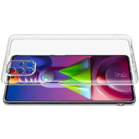 Тонкий TPU Бампер Силиконовый Чехол для Samsung Galaxy M51 Прозрачный