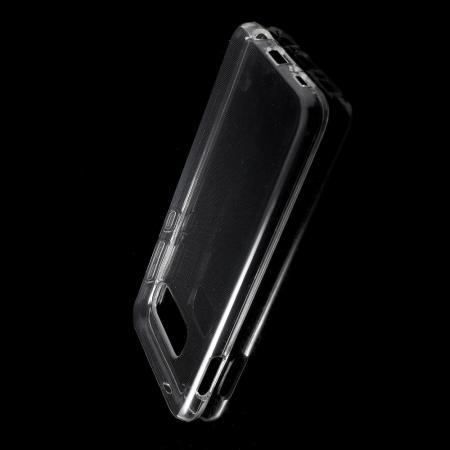 Тонкий TPU Бампер Силиконовый Чехол для Samsung Galaxy S10e Прозрачный