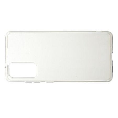 Тонкий TPU Бампер Силиконовый Чехол для Samsung Galaxy S20 FE / S20 FE Прозрачный