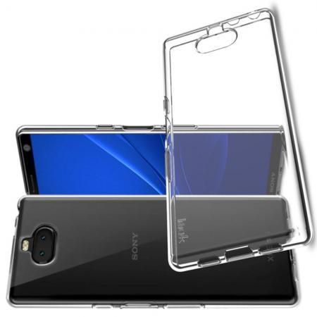 Тонкий TPU Бампер Силиконовый Чехол для Sony Xperia 10