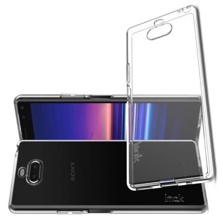 Тонкий TPU Бампер Силиконовый Чехол для Sony Xperia 20 Прозрачный