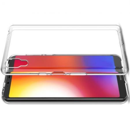 Тонкий TPU Бампер Силиконовый Чехол для Sony Xperia L3 Прозрачный