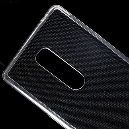 Тонкий TPU Бампер Силиконовый Чехол для Sony Xperia 1 Прозрачный