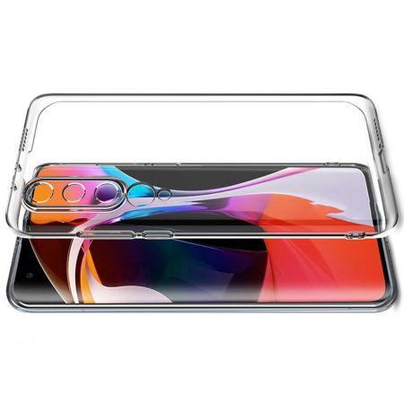 Тонкий TPU Бампер Силиконовый Чехол для Xiaomi Mi 10 / Mi 10 Pro Прозрачный