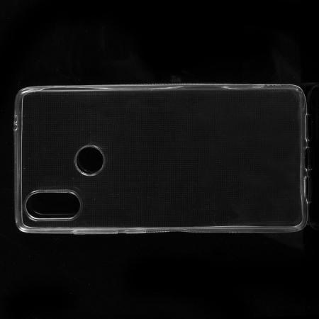 Тонкий TPU Бампер Силиконовый Чехол для Xiaomi Mi 8 SE Прозрачный