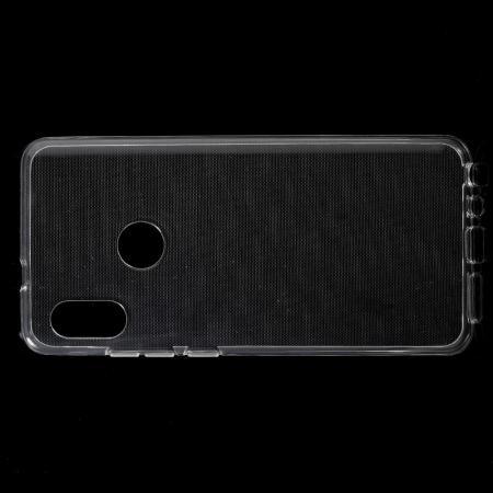 Тонкий TPU Бампер Силиконовый Чехол для Xiaomi Mi A2 / Mi 6X Прозрачный