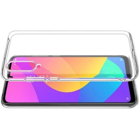 Тонкий TPU Бампер Силиконовый Чехол для Xiaomi Mi A3 Прозрачный