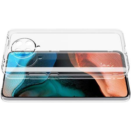 Тонкий TPU Бампер Силиконовый Чехол для Xiaomi Poco F2 Pro Прозрачный