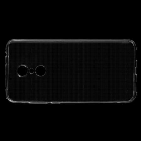 Тонкий TPU Бампер Силиконовый Чехол для Xiaomi Redmi 5 Plus Прозрачный
