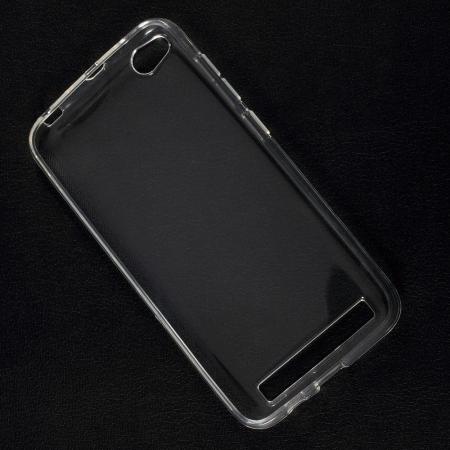 Тонкий TPU Бампер Силиконовый Чехол для Xiaomi Redmi 5a Прозрачный