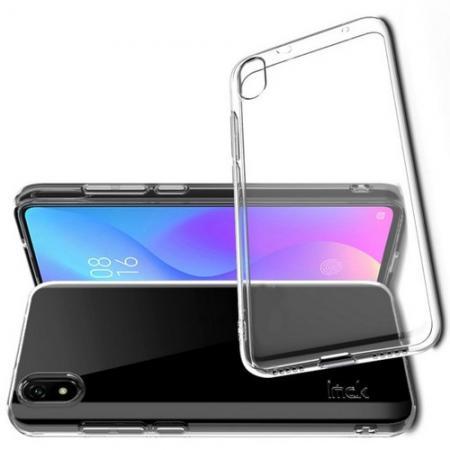 Тонкий TPU Бампер Силиконовый Чехол для Xiaomi Redmi 7A Прозрачный