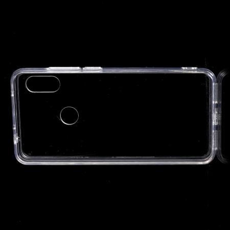 Тонкий TPU Бампер Силиконовый Чехол для Xiaomi Redmi Note 7 / Note 7 Pro Прозрачный